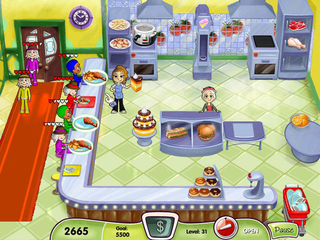 free game online cooking dash