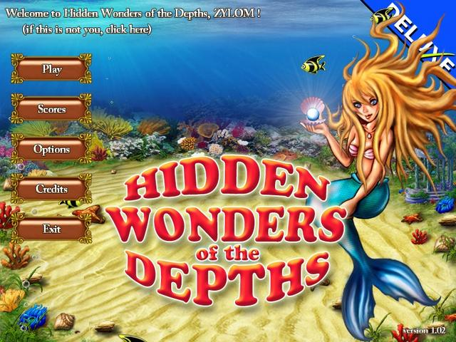 Play Hidden Wonders of the Depths