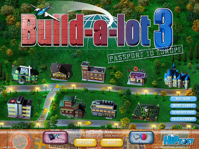 Build a lot 3 passport to europe gamehouse Building on a lot