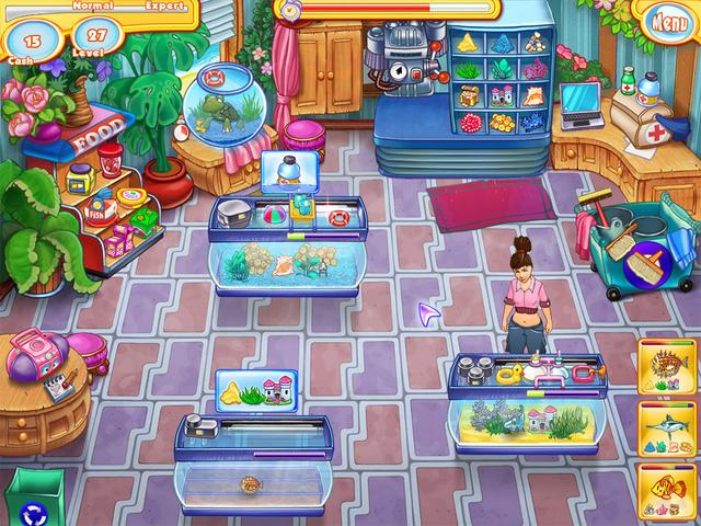 Jenny 39 s fish shop gamehouse for Fish computer game