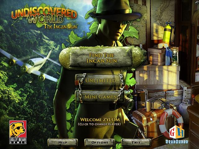 Undiscovered world the incan sun download