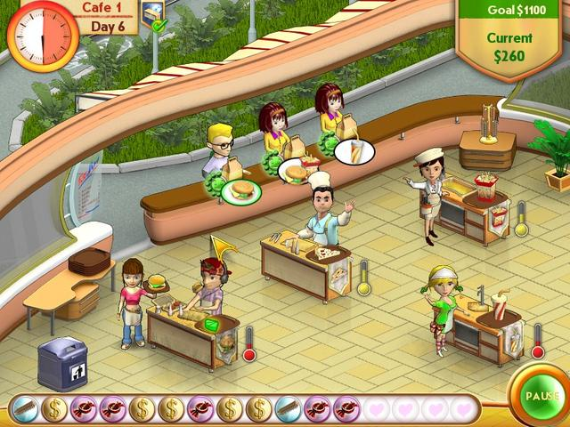 Play Amelie's Cafe