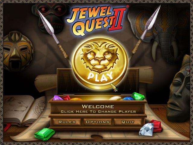 Play Double Play Jewel Quest II and Jewel Quest III