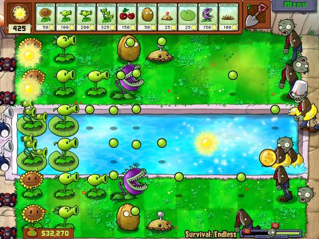plants vs zombies play free online now