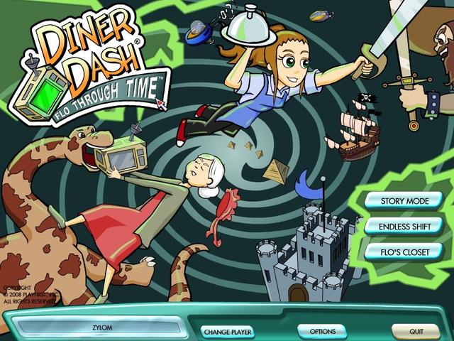 Play Diner Dash 6 - Flo Through Time