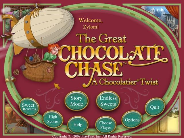 Play The Great Chocolate Chase - A Chocolatier Twist