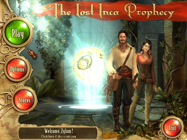 Play The Lost Inca Prophecy