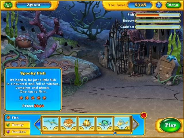 Play Fishdom - Spooky Splash