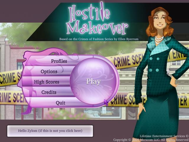 Play Hostile Makeover - A Fashion Murder Mystery Game