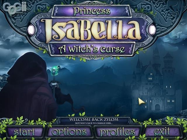 Princess Isabella a Witch's
