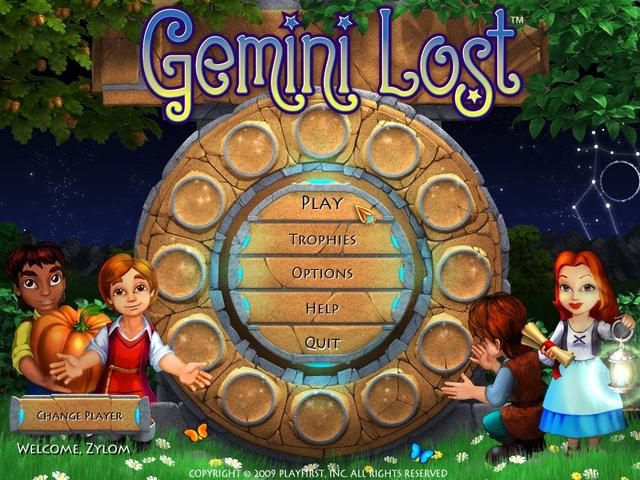 Play Gemini Lost