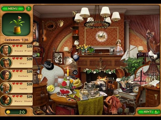 gamehouse hidden object games free online