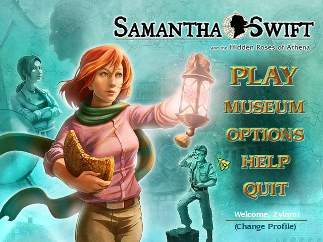 Play Samantha Swift and the Hidden Roses of Athena