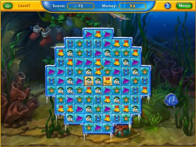 Play Fishdom - Frosty Splash