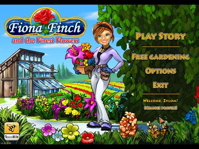 Play Fiona Finch and the Finest Flowers