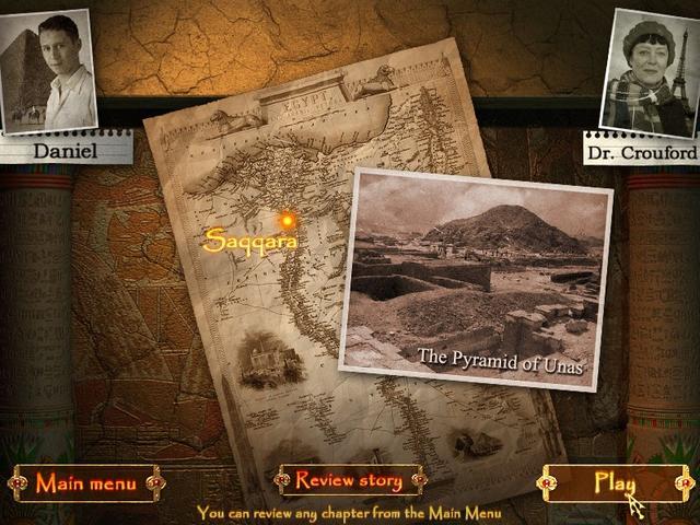 game pharaohs secret