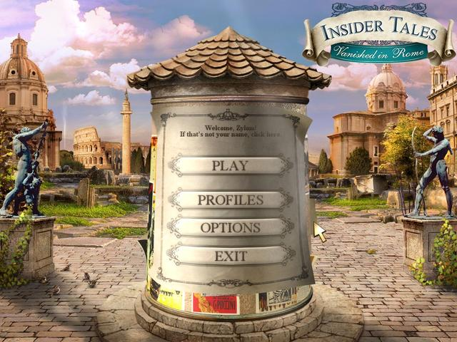 Play Insider Tales - Vanished in Rome