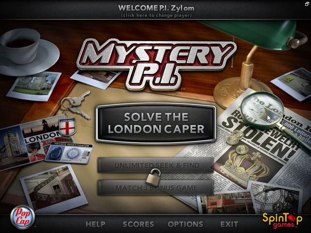 Play Mystery P.I. - The London Caper