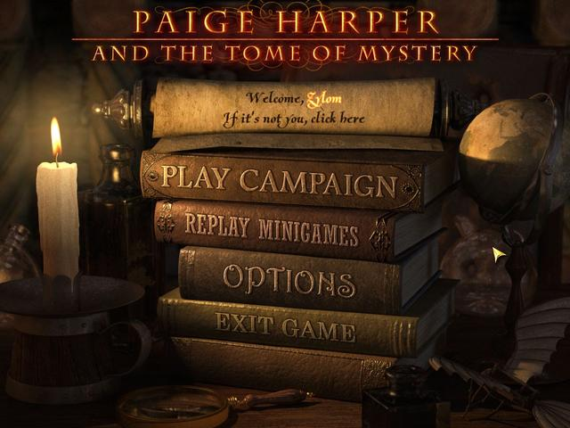 Play Paige Harper and the Tome of Mystery
