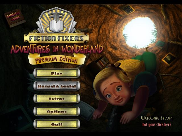 Play Fiction Fixers - Adventures in Wonderland Platinum Edition