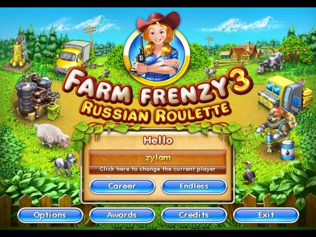 Play Farm Frenzy 3 - Russian Roulette