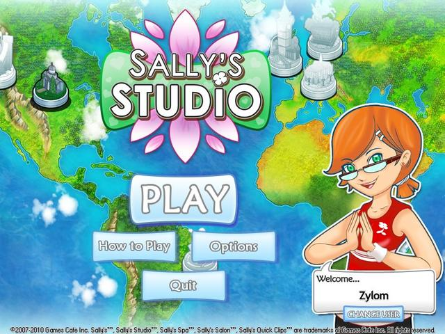 Play Sally's Studio