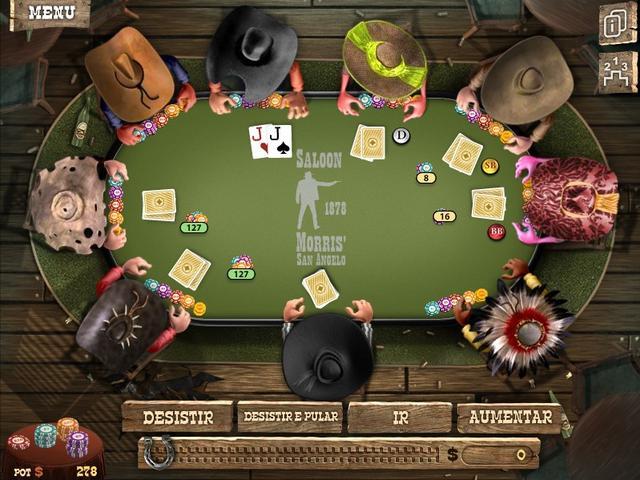 Jogo governor of poker no click jogos