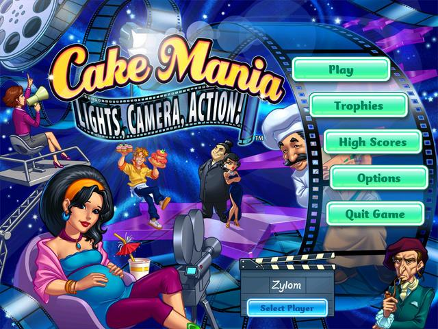 Play Cake Mania - Lights, Camera, Action!