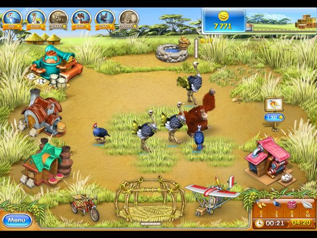 Play Farm Frenzy 3 - Madagascar