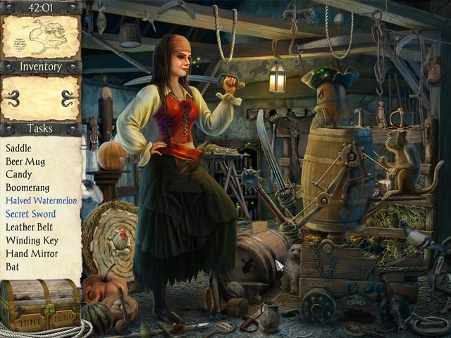 Play Robinson Crusoe and the Cursed Pirates