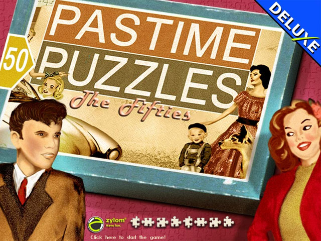 Play Pastime Puzzles - The Fifties