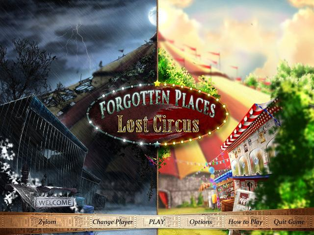Play Forgotten Places - Lost Circus