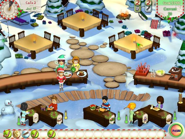 Play Amelie's Cafe - Holiday Spirit