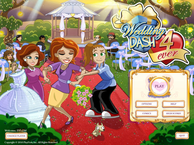 Play Wedding Dash 4-Ever