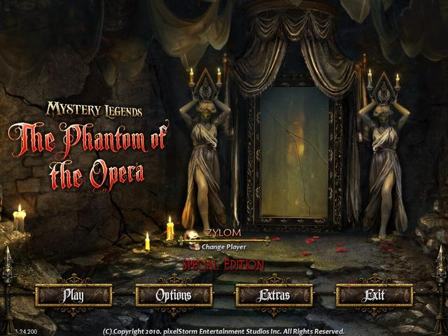 Play Mystery Legends - The Phantom of the Opera