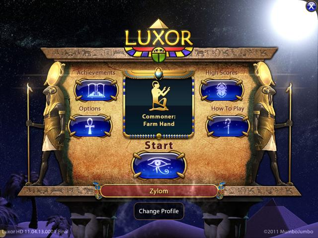Play LUXOR HD