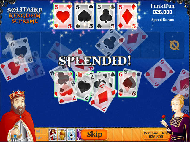 Play Solitaire Kingdom Supreme