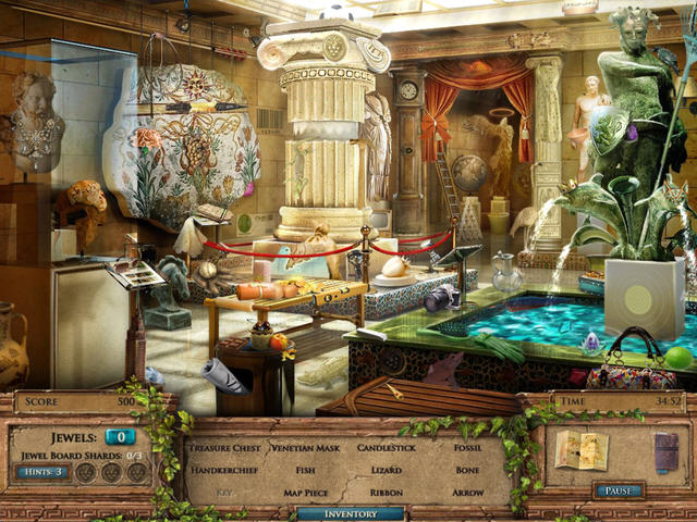 Play Jewel Quest Mysteries - The Seventh Gate Platinum Edition