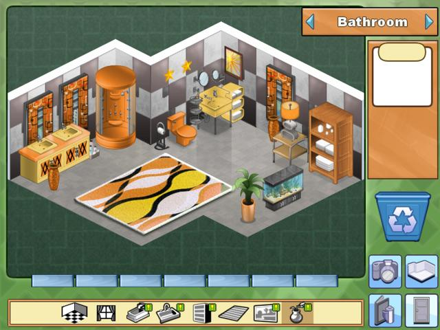 Home sweet home 2 kitchens and baths gamehouse for Virtual families 2 decoration