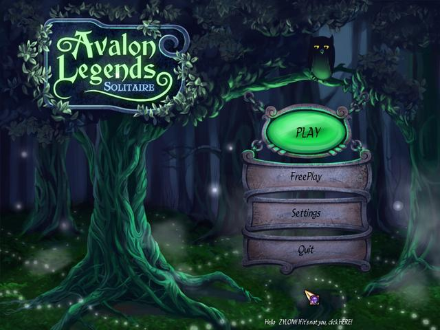 Play Avalon Legends Solitaire