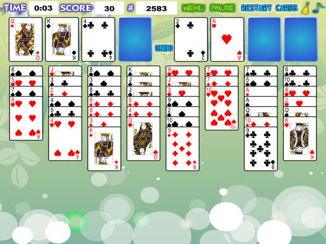 FreeCell Solitaire Online Free Game GameHouse