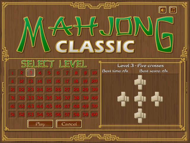 free online classic mahjong