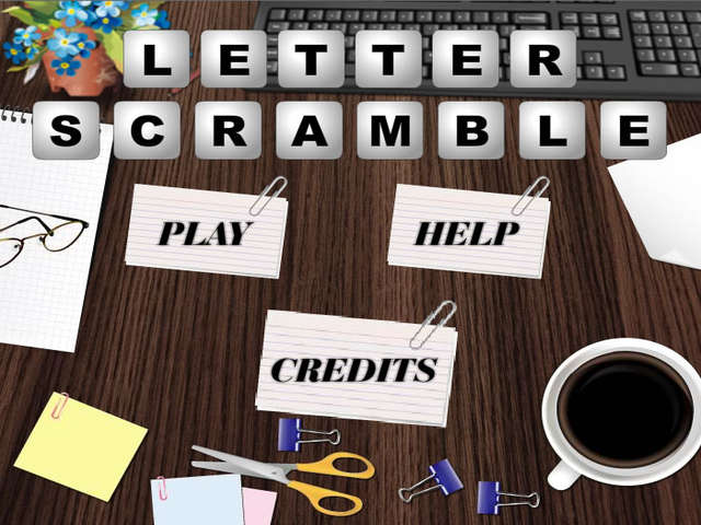 Letter Scramble Online Free Game | GameHouse