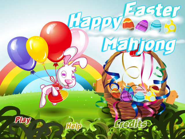 happy easter mahjong online free game