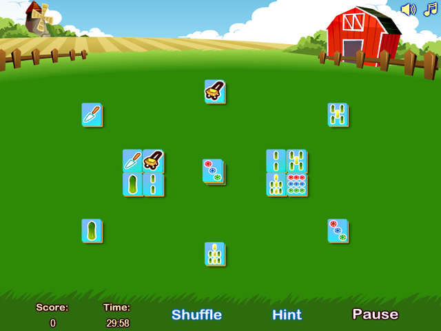 Play Farm Flip Mahjongg