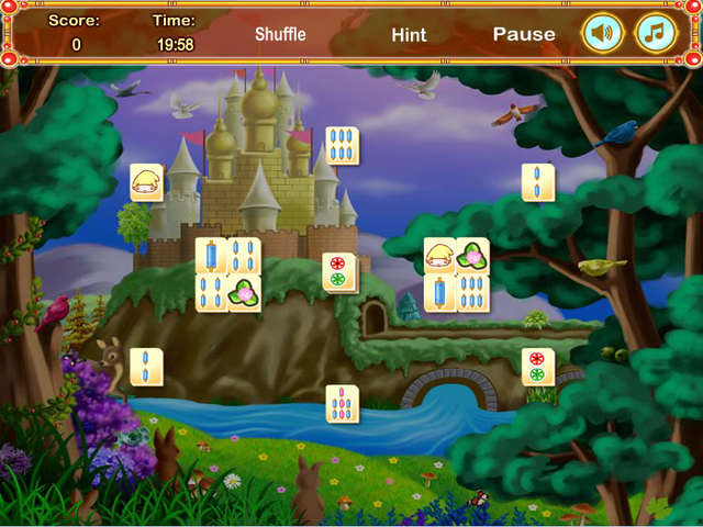 Play Snow White Mahjong 2