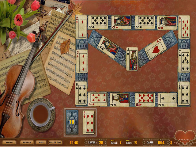 Play Royal Challenge Solitaire