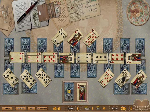 Freecell - Speel dit vermakelijke kaartspel op Zylom!
