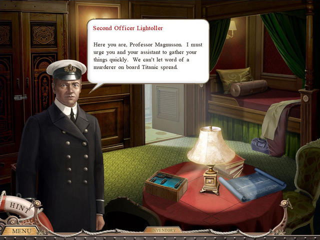 Play Inspector Magnusson - Murder on the Titanic