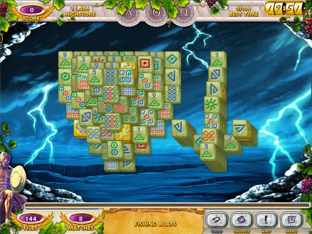 Play Mahjong Mysteries - Ancient Athena